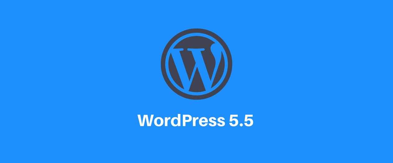 K dispozici je nová verze WordPress 5.5